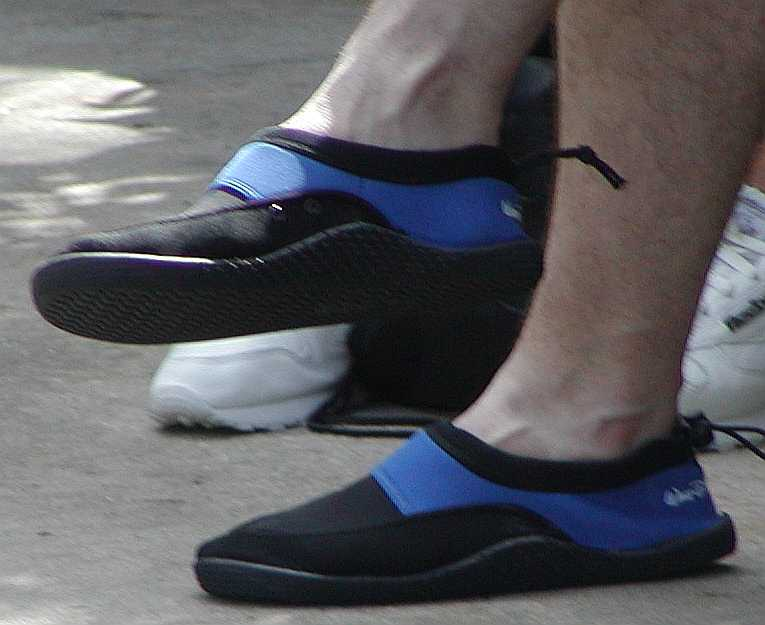 Men's Foot Fashions